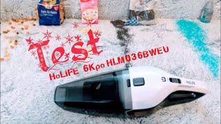 Handstaubsauger Unboxing HoLIFE Portable Vacuum Cleaner, Test, wet & dry, Akku - handstaubsauger