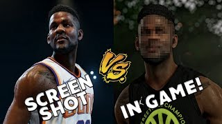 DID THEY CATFISH US?!?! Nba Live 19 Screenshots vs IN GAME! Graphical comparison