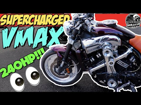 SUPERCHARGED VMAX 240HP | Would YOU ride this Motorcycle?