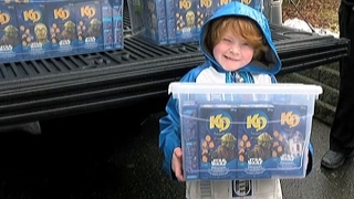 400 boxes of Kraft Dinner delivered to B.C. boy with autism