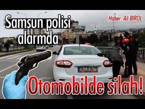 Samsun'da asayiş... 'Silah' alarmı!