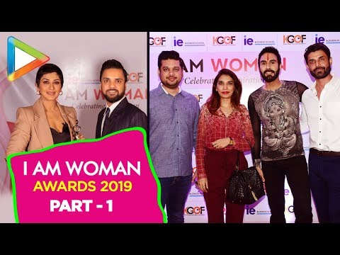 Many Celebs At I Am Woman Awards 2019 - Part 1| Rohit Roy
