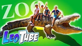 Leo Visita el Zoo en Menorca