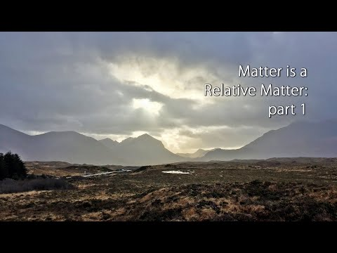 Matter is a Relative Matter with Iain McGilchrist