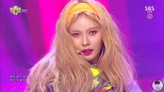 HyunA(현아) - Lip & Hip (립힙) 교차편집 (stage mix) 나른