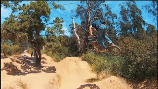 BMX Dirt Jumps FPV Chase