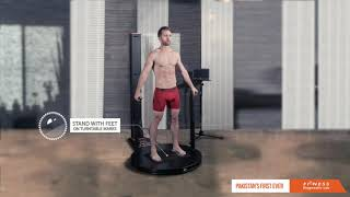 Steps to get a 3D body scan in less than 35 seconds
