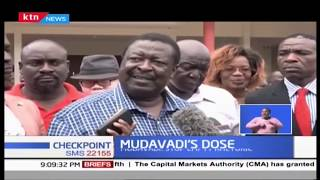 Mudavadi calls for the corrupt to be jailed, as he calls on agencies to go after 'big fish'