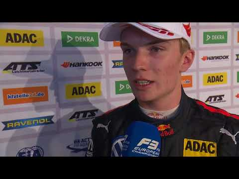 #F3 - 2018 Race of Nürburgring - Dan Ticktum's interview after Race 2