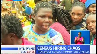 Kangemi residents protest census recruiting process