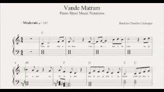 Vande Matram Sheet Music Notations From MusicHorizon