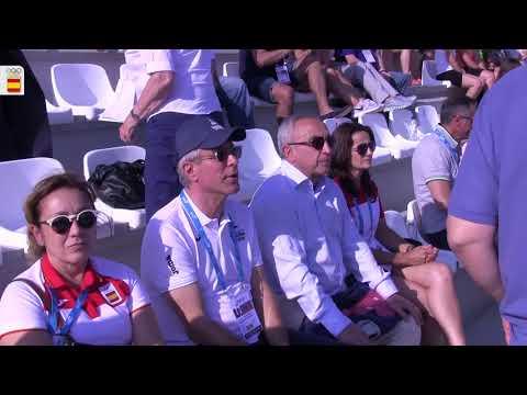 La malagueña Duane da Rocha, plata en los Juegos Mediterráneos