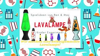 Lavalampe – Lavalampe selbst machen – EXPERIMENT