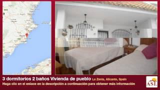 preview picture of video '3 dormitorios 2 baños Vivienda de pueblo se Alquila en La Zenia, Alicante, Spain'