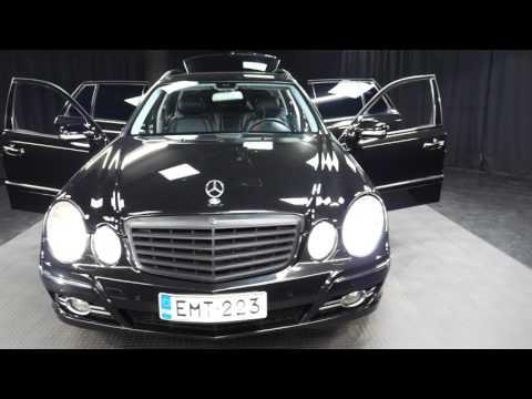 Mercedes-Benz E 320T CDI 4matic Avantgarde STW A, Farmari, Automaatti, Diesel, Neliveto, EMT-223