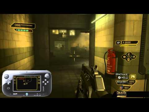 Deus Ex: Human Revolution Director's Cut - 'Alice Garden Pods' gameplay video