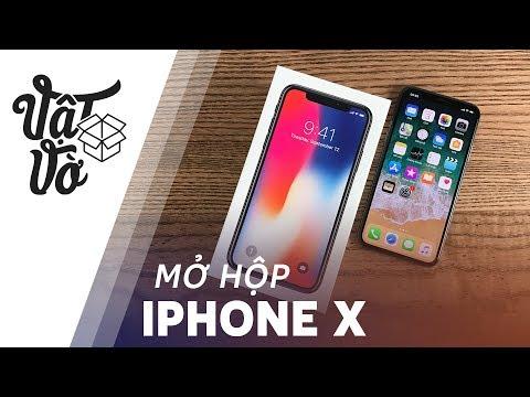 Mở hộp iPhone X bản đắt nhất
