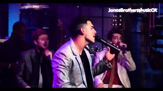 Joe Jonas - I'm Sorry on letterman show live