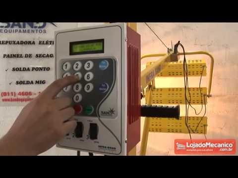Painel de Secagem Rápida com 6 Lâmpadas - Video