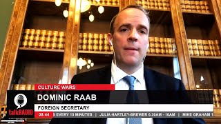 video: Taking the knee a symbol of 'subjugation and subordination', Dominic Raab says