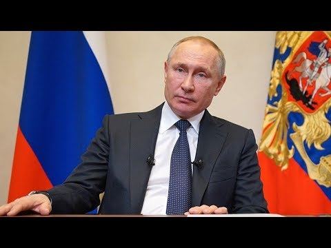 Трансляция нового обращения Путина к россиянам
