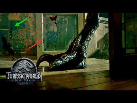 Stealthy Movement & Echolocation - Indoraptor's Abilities | Jurassic World 2