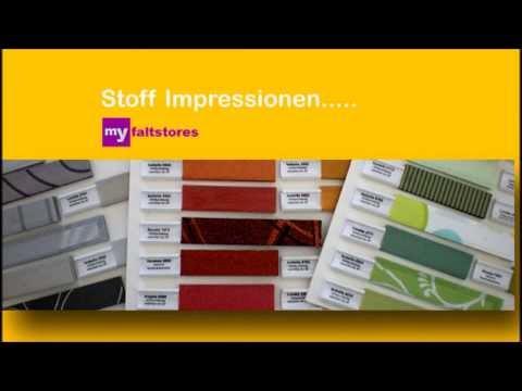 Faltstore Jalousie Rollo - Fenster Plissee auf Maß - Online Showroom