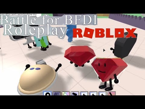 RUBY and the REST OF THE GANG IN BATTLE FOR BFDI ROLEPLAY || ROBLOX
