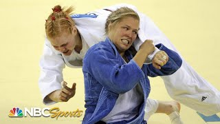 Ronda Rousey dominates for historic judo bronze at 2008 Beijing Olympics    NBC Sports