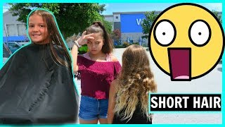 SHORT HAIR FOR BACK TO SCHOOL | #270