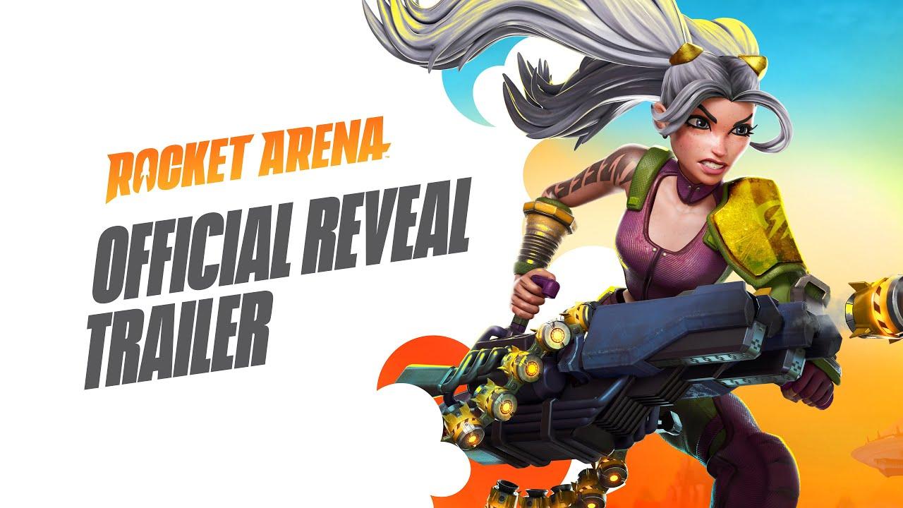 Геймплейный трейлер игры Rocket Arena