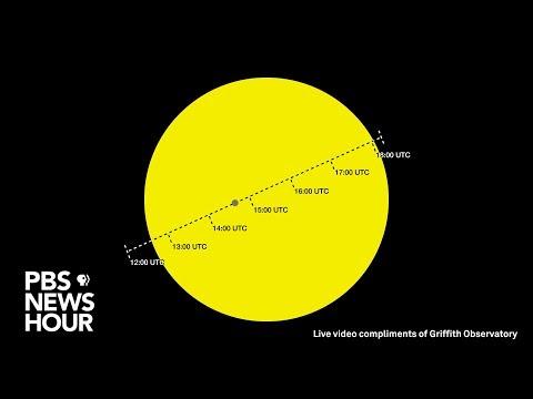 WATCH LIVE: Mercury transits the Sun - 2019