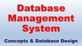 DBMS Tutorial for Beginners: Database Management System Concepts | DBMS Basics  Tutorial
