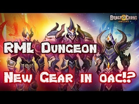 Order and Chaos online - Tanking RML Dungeon