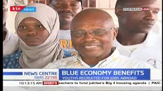 Youth in Mombasa recruited to work abroad after blue economy