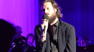 """Father John Misty Performs """"When You're Smiling And Astride Me"""" 3B's Pavilion Boston MA 09/13/17"""
