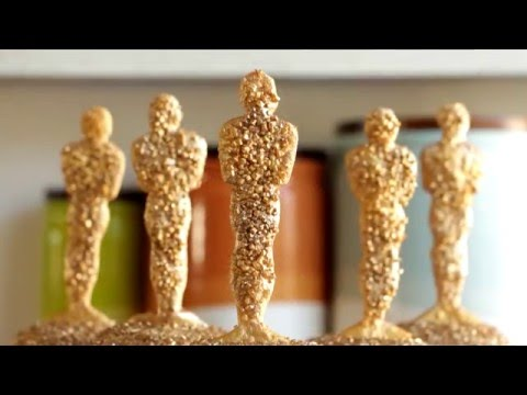 How to Make Oscar Awards Cupcakes | Become a Baking Rockstar