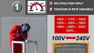 """Сварочный инвертор, Telwin Advance 187 MV/PFC от компании ООО """"Евростор"""" - видео"""