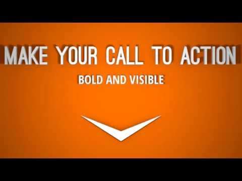 orange call to action