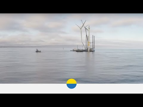 W jaki sposób zdemontować morską farmę wiatrową?