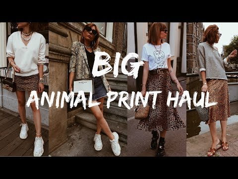 Download BIG Animal Print Haul - Leopard or Snakeskin Print?! HD Mp4 3GP Video and MP3