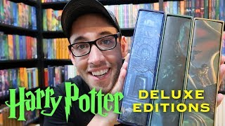 Harry Potter American Deluxe Collectors Edition Books