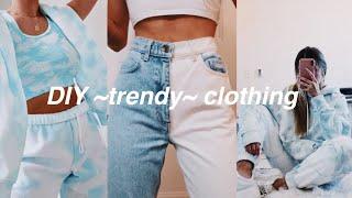 DIY Trendy Clothes// Tiktok Inspired