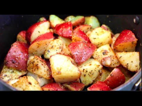 Video How to Cook Red Potatoes in a Pan on the Stove - Dulce Karamelo
