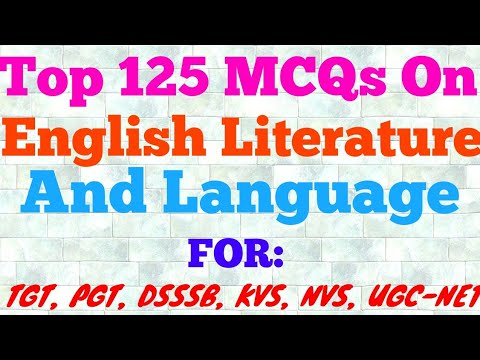 Download Mcqs On English Literature Top 70 Most Important Question