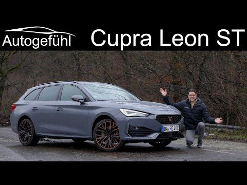 all-new CUPRA Leon Sportstourer e-HYBRID FULL REVIEW 2021