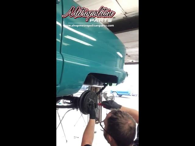 Nash Metropolitan Rear Axle Leak Installation Guide