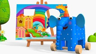 Maderitas - Episodio 19 - El Cuadro - Moolt Videos para Niños