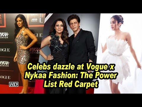 Srk, Katrina and Jahnvi other celebs dazzle at Vogue x Nykaa Fashion: The Power List Red Carpet