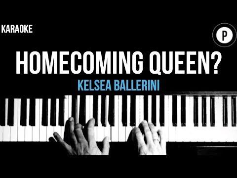 Kelsea Ballerini - Homecoming Queen? Karaoke Slower Acoustic Piano Instrumental Lyrics